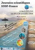 Journées scientifiques IODP-France