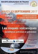Conférence itinérante : Les risques volcaniques - surveillance, prévision et prévention