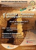 1ère journée du patrimoine géologique francilien