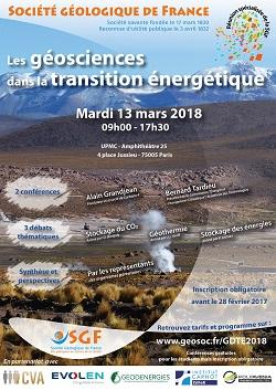 Les géosciences dans la transition énergétique