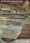 Roches mères pétrolières - Réunion spécialisée SGF