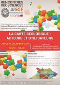 Rencontres Géosciences - La carte géologique : acteurs et utilisateurs