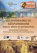 Les inventaires du patrimoine géologique Enjeux, bilans et perspectives / Toulouse