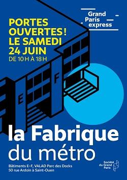 Grand Paris Express : Première journée Portes ouvertes à la Fabrique du Métro
