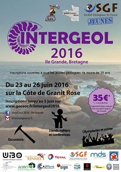InterGéol 2016 / Bretagne