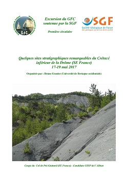 Quelques sites stratigraphiques remarquables du Crétacé inférieur de la Drôme (SE France)