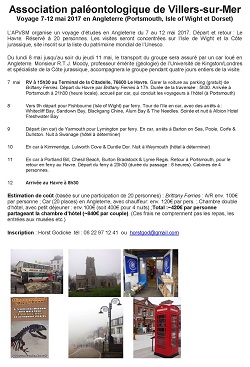 Voyage d\'études en Angleterre (Portsmouth, Isle of Wight et Dorset)