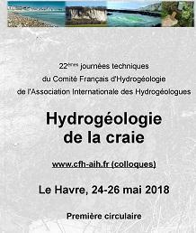 22èmes journées techniques du Comité Français d\'Hydrogéologie - Hydrogéologie de la Craie