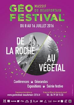 3ème Géofestival®  du massif du Beaufortain - De la roche au végétal