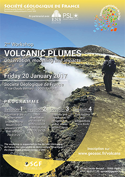 2nd workshop - VOLCANIC PLUMES Observation, modelling and impacts