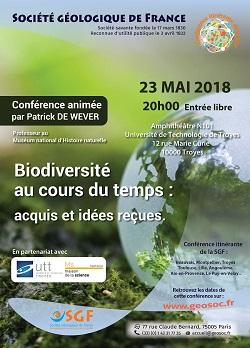 Biodiversité au cours du temps : acquis et idées reçues - Troyes