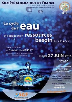 Le cycle de l\'eau et l\'adéquation besoin-ressources au 21ème siècle - Aix-en-Provence