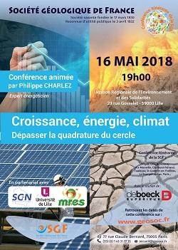 Croissance, énergie, climat - Dépasser la quadrature du cercle - Lille