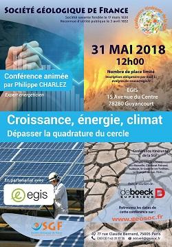 Croissance, énergie, climat - Dépasser la quadrature du cercle - Saint-Quentin-en-Yvelines