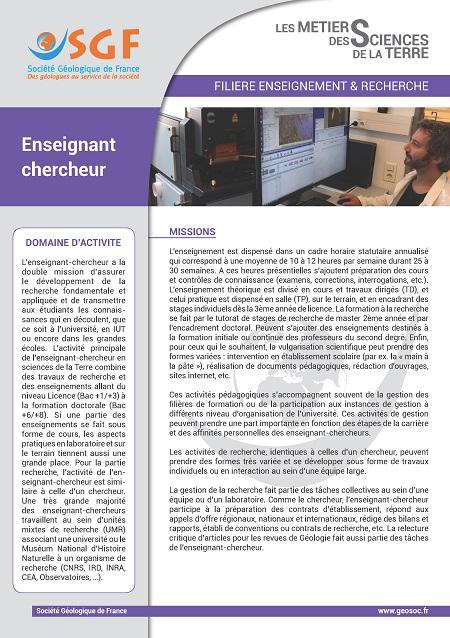 Enseignement chercheur Page 1