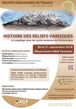 Histoire des reliefs varisques et couplages avec les cycles externes au Paléozoïque