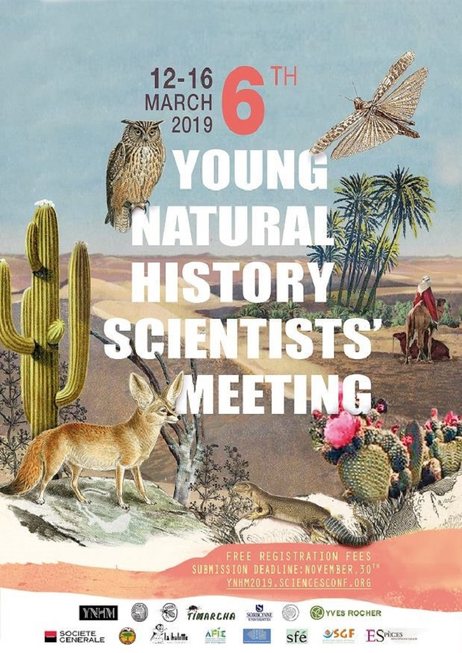 6th Young Natural History Scientists'Meeting