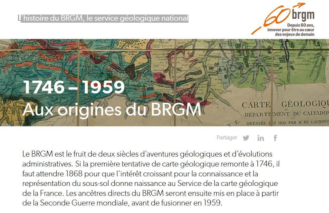 BRGM 60ans