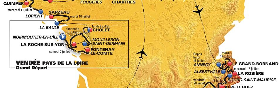 Retrouvez à partir du 07 juillet tous les commentaires géologiques du Tour de France lors des étapes