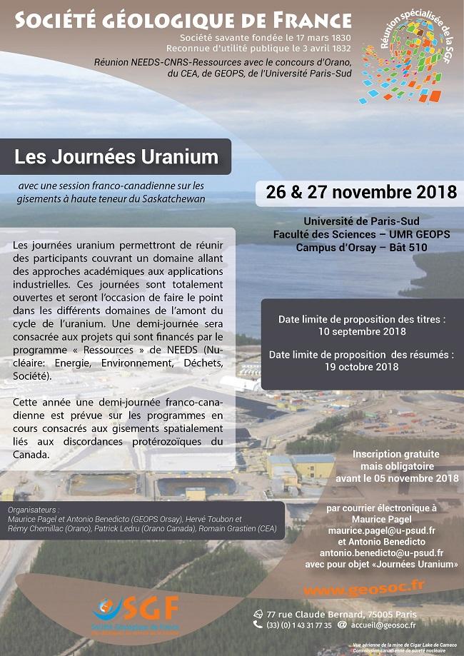 affiche sgf reunion specialisee 2018 uranium 650