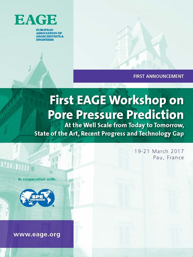 First EAGE Workshop on Pore Pressure Prediction