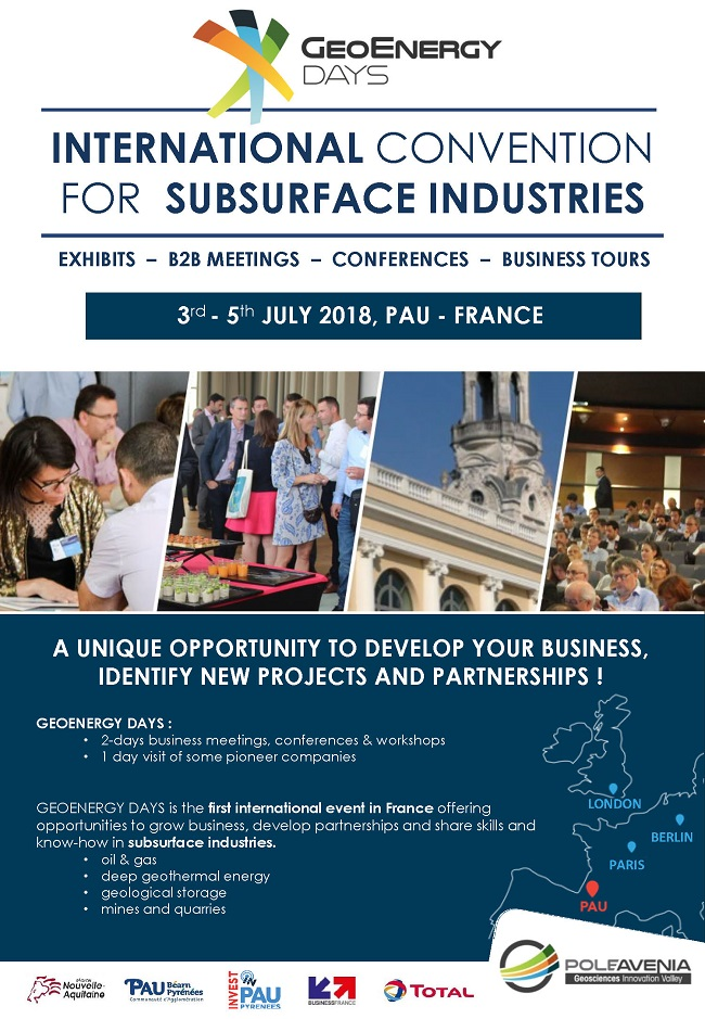 GeoEnergy Days - International convention for subsurface industries