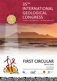 35th International Geological Congress / Cape Town