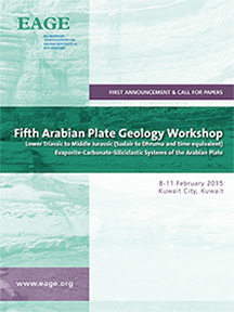 Fifth Arabian Plate Geology Workshop / Kuwait City