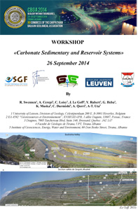 Carbonate Sedimentary and Reservoir Systems - XX Congress of the Carpathian Balkan Geological Association / Tirana