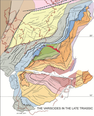Variscan 2012 - Length scales, time scales and relative contribution of Variscan orogenic events to formation of European crust / Sassari, Italie